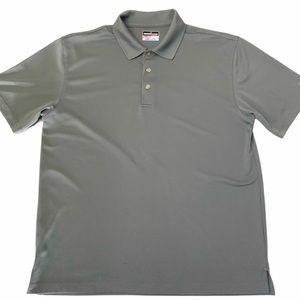 Grand Slam Gray Golf Polo Shirt Short Sleeve XL